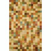 Petra Squares Pastel Rug