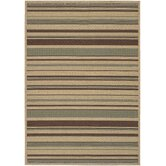 Alfresco Stripe Beige Multi Rug