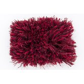 Milan Red  Burgundy  Plum Rug