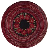 Holiday Flores Holiday Flowers Novelty Rug