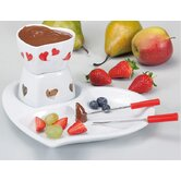 5-tlg. Schoko-Fondue Set &quot;Sweety&quot;