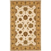 Jewel Ivory/Gold Rug