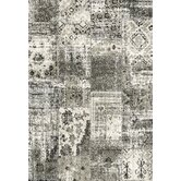 Infinity Black/Silver Rug