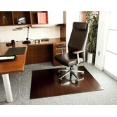 Bamboo Deluxe Hard Floor Rounded Edge Chair Mat