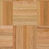 Urethane Parquet 12&quot; x 12&quot; x 7/16&quot; Solid Oak in Standard