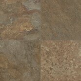 Alterna Reserve 16&quot; x 16&quot; Moselle Valley Vinyl Tile in Forest Green/Copper