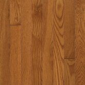 "Waltham 3-1/4"" Solid Plank White Oak in Brass"