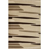 Oasis Striations Beige/Brown Rug