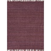 Rugged Pink/Purple Solid Rug