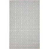Urban Bungalow Blue Geometric Rug