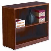 Verona Veneer Series Bookcase, 2 Shelves, 36w x 14d x 30h, Cherry