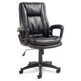 Clio High-Back Leather Executive Chair
