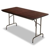 60&quot; Folding Table in Walnut