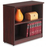 Valencia Series Two-Shelve Bookcase and Storage Cabinet