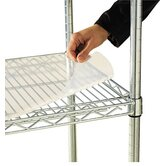 "36"" W x 18"" D Shelf Liners for Wire Shelving in Clear Plastic"