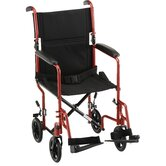 "19"" Steel Transport Chair"