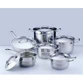 Hotel Line Stainless Steel 12-Piece Cookware Set