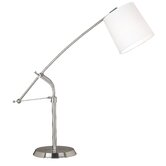 Reeler  Table Lamp in Brushed Steel