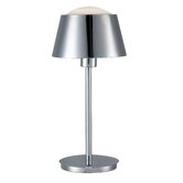 Kramer One Light Desk Lamp in Chrome