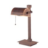 Welker One Light Desk Lamp in Vintage Copper