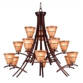 Wright 15 Light Chandelier