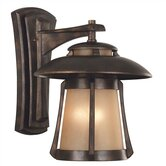 Laguna  Outdoor Wall Lantern in Golden Bronze