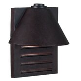 Fairbanks  Large Wall Lantern in Copper