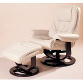 Andre Essentials Leather Ergonomic Recliner