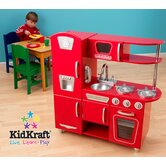 Red Vintage Kitchen