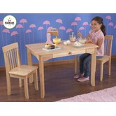 Avalon Kids 3 Piece Table and Chair Set
