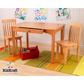 Avalon Kid's 3 Piece Table and Chair Set