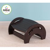 Adjustable Stool for Nursing in Espresso