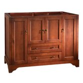 "Traditions Milano 48""Bathroom Vanity Cabinet in Colonial Cherry"