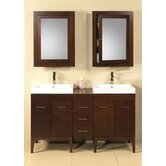 "Contempo Venus 58"" Bathroom Vanity Set"