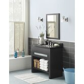 "Kendra 36"" Wood Vanity Set with Wide Appeal Top"