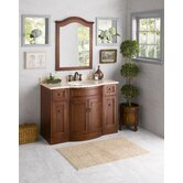 "Marcello 48"" Wood Vanity Set with Stone Top"