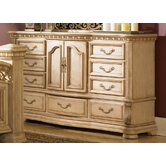 Cordoba Door 9 Drawer Combo Dresser