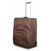 Chateau 24&quot; Upright Suitcase in Mocha
