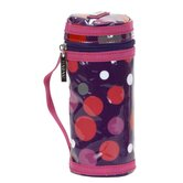 Bottle Sleeve in Bouncing Ball Berry