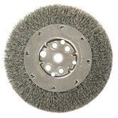 "Narrow Face Crimped Wire Wheels-DM Series - dm4 .006 crimped wire wheel 1/2-3/8"" ar"