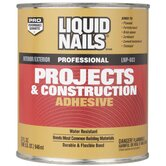 1 Quart Liquid Nails&reg; Projects &amp; Construction Adhesive LNP603