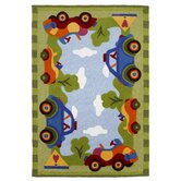 Kolorful Kidz Ride In The Park Kids Rug