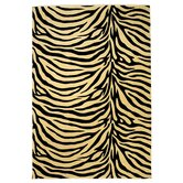 Moda Ivory/Black Zebra Rug