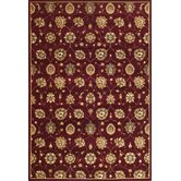 Cambridge Red Tabriz Panel Rug