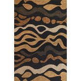 Milan Charcoal Landscape Rug