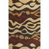 Milan Mocha Landscape Rug