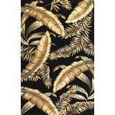 Sparta Black Ferns Rug