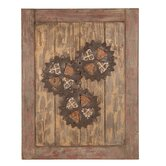 Wooden Cog Wall D&eacute;cor