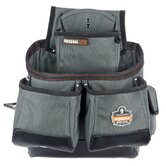 Arsenal 16-Pocket Tool and Fastener Pouch in Gray