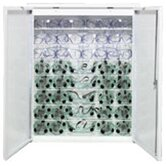 Sanitizing Monitor Storage Cabinet